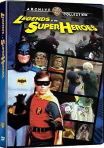 Legends of the Super Heroes DVD