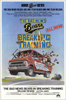 The Bad News Bears in Breaking Training Poster