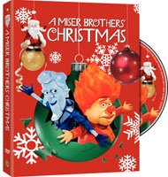 A Miser Brothers' Christmas DVD