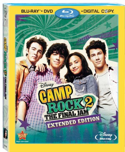 Camp Rock 2: The Final Jam Blu-ray