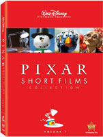 Pixar Short Films Collection: Volume 1 DVD