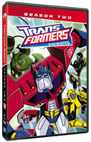 Transformers Animated: Season Two DVD