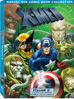 X-Men: Volume Five DVD
