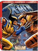 X-Men: Volume Four DVD