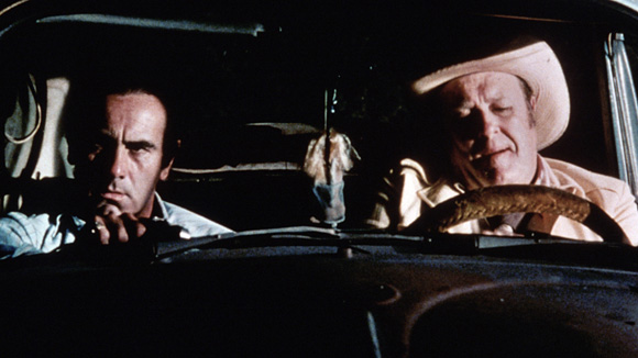 Blood Simple 03 M. Emmett Walsh and Dan Hadaya