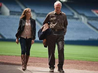 Trouble with the Curve Amy Adams Clint Eastwood